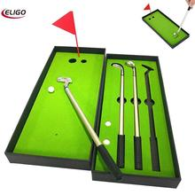 Golf Club Ballpoint Pen Set Portable Outdoor Golf Club Sports Accessories