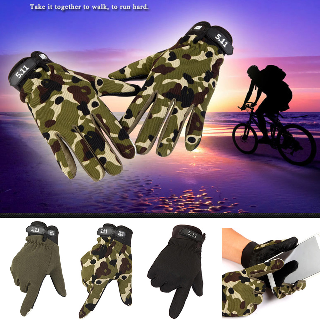 MILITARY TACTICAL SPORTS CYCLING MOTORCYCLE WARM FULL FINGER MEN GLOVES STRICT