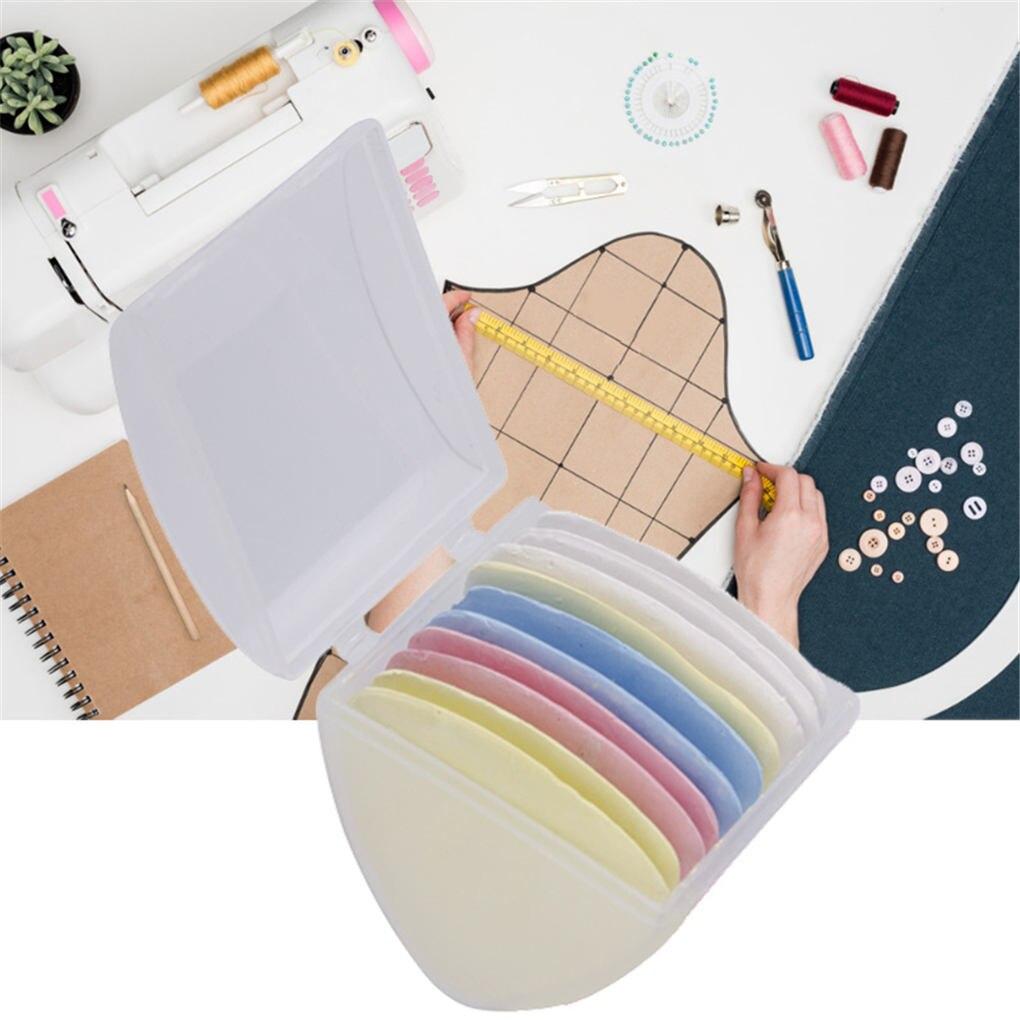 teng hong hui Schneider-Kennzeichnung Zeichnung Kreiden Set N/ähen Quilten Stoff Stoff N/ähen Kreide Schneider Marker Maker Kreiden Kit Blau 10pcs