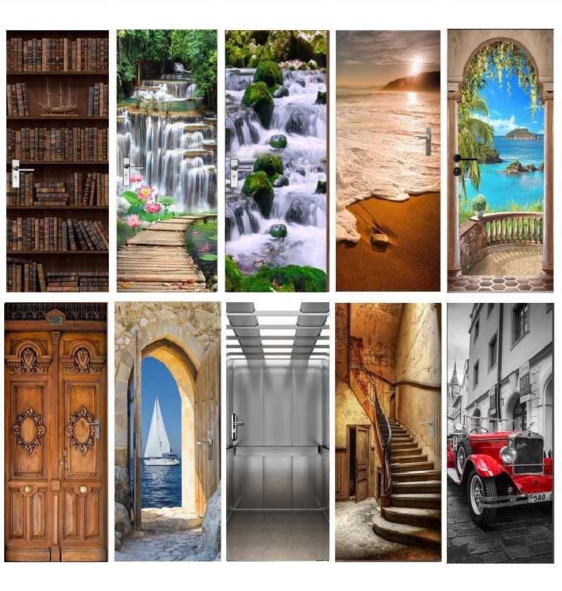 Обильно благословенный двери окна настенные наклейки виниловые клей декор спальни