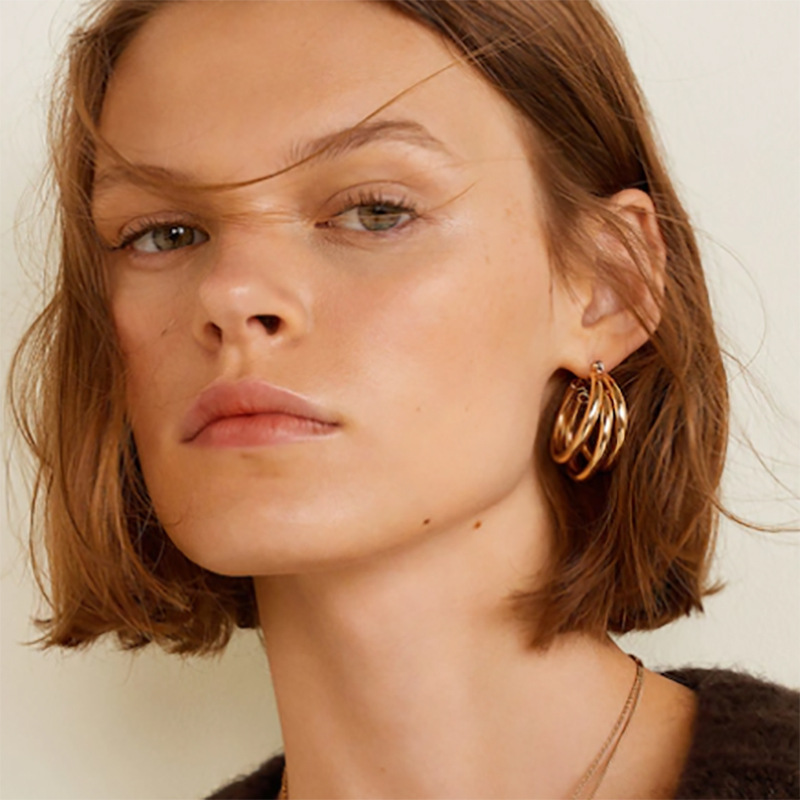 Fashion Statement Earrings 19 Big Geometric Round Earrings For Women Hanging Dangle Earrings Drop Earing Modern Female Jewelry 5