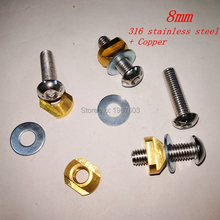 Mounting Hydrofoil-Mount for Tracks-Size M8/M6 4pcs/Set T-Nuts
