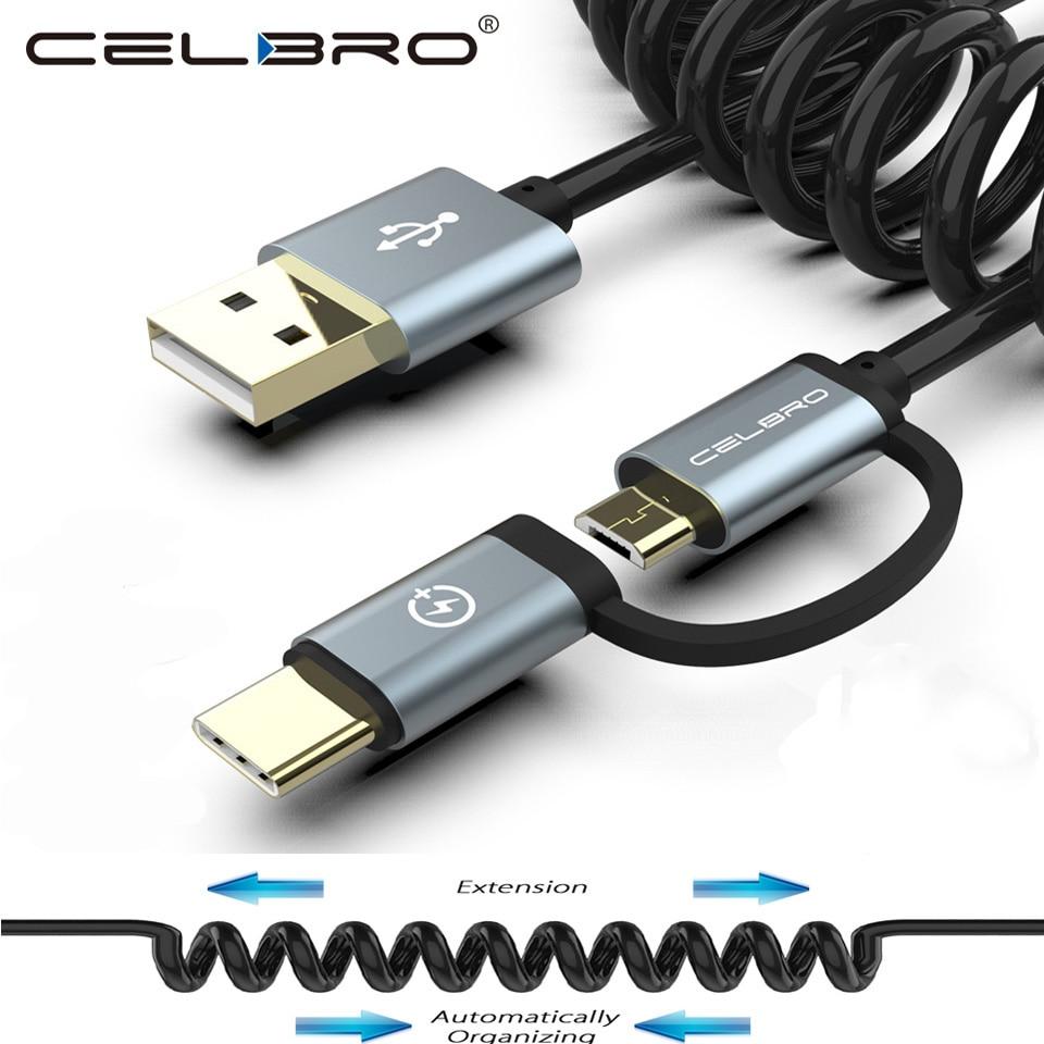 Samsung micro USB Cable DJI Phantom 3 4 and DJI Inspire 1 strong nylon coiled