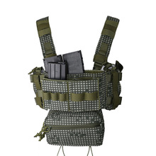 Bag Magazine-Shotgun Chest-Rig Tactical-Vest Paintball Wargame Pouch Body-Armored Combat