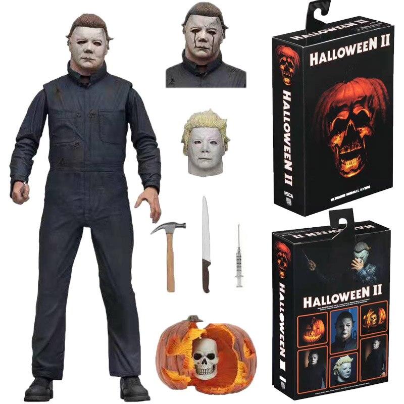 """NECA 2019 Halloween II Michael Myers Ultimate 7/"""" Action Figure Model Toy Gift"""