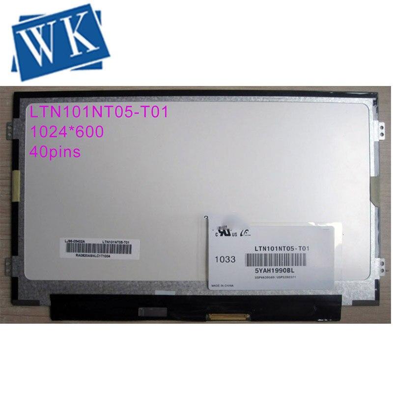 """10.1 /""""LED LCD Screen Display B101AW06 V.1 B101AW06 V.0 V.3  LVDS 40PIN 1024X600"""