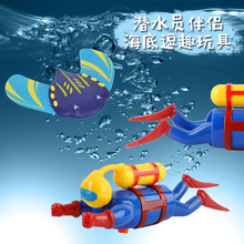 Underwater-Toy Diver Buddy Diving-Mate Fish And Gift Whale Coach Devil Butterfly New