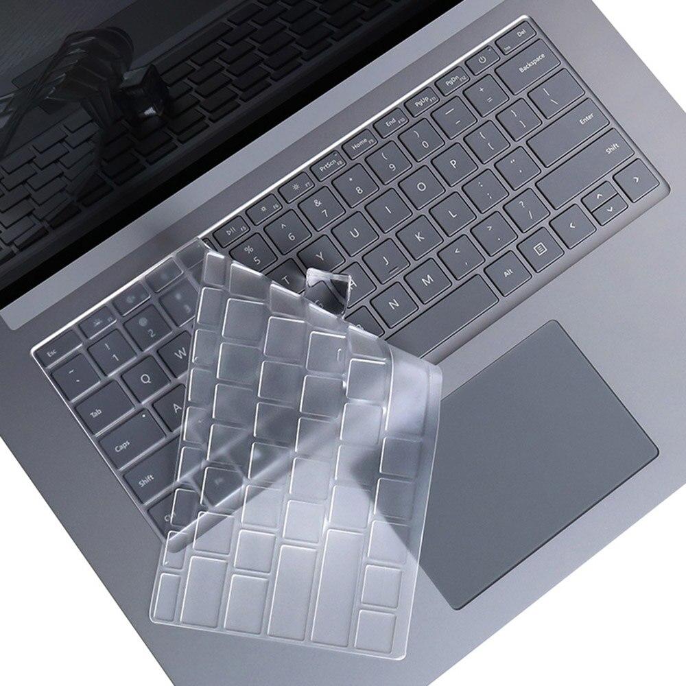 Untuk Microsoft Surface Laptop 3 13 5 Inci Keyboard Film Pelindung Tpu Keyboard Laptop Debu Transparan Penutup Pelindung Aliexpress