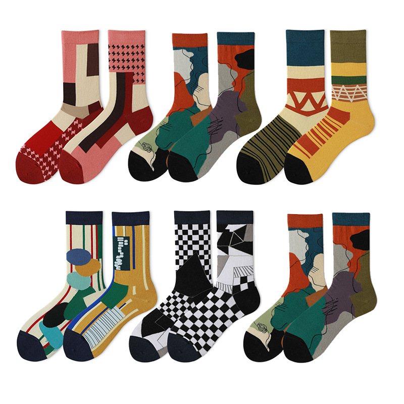 Cartoon Casual Women Autumn Harajuku Kawaii Funny Cute Couple Cotton Socks Happy Creativity Sock Fashions Gifts for Men Sock