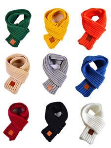 Soft Scarf Collar Stretch-Neck-Ring Warm Baby-Boys-Girls Winter Fashion Children Solid