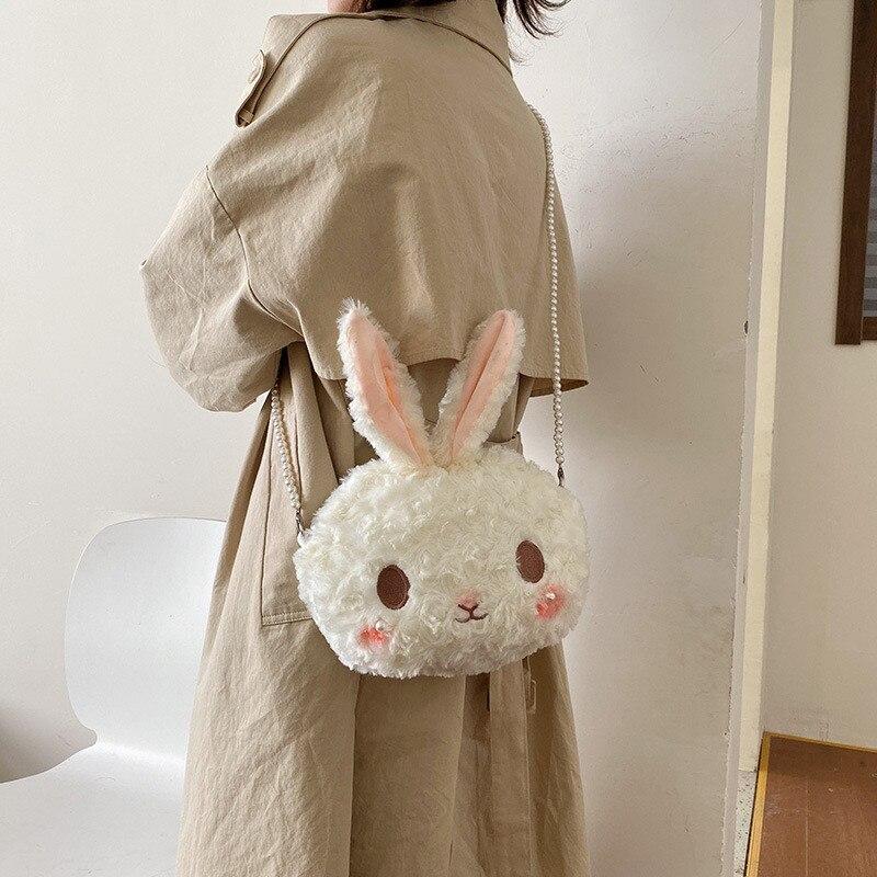 BESTOYARD bunny ears headband Rabbit Ears with plush pom pom ballss easter costume for Girl Kid Baby White