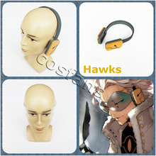 Glasses-Props Earphone Hawks Academia Boku Anime Halloween My Hero No.2 Handmade