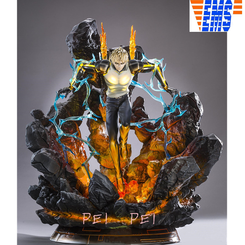 15cm  One Punch Man Genos Figure Figurines Statues Collections Anime Jouets