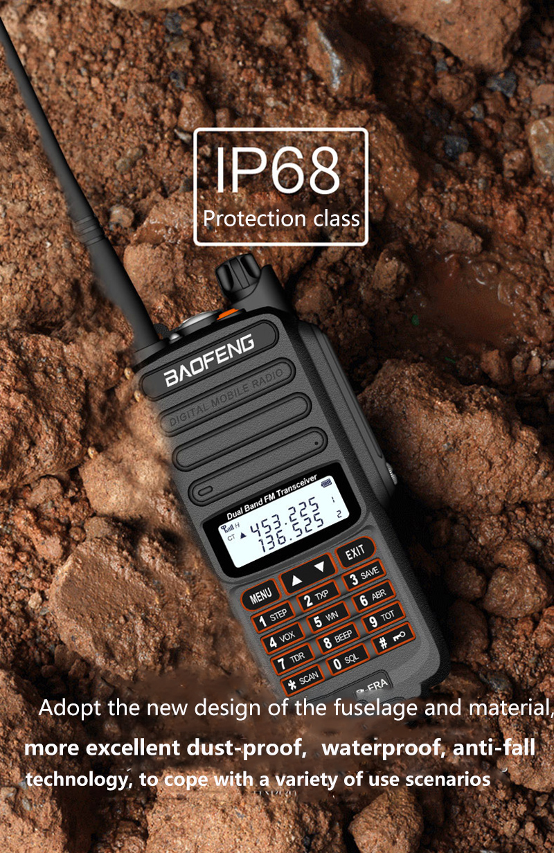 2019 BaoFeng UV-S9 Powerful Walkie Talkie CB Radio Transceiver 8W 10km Long Range Portable Radio for hunt forest city (10)