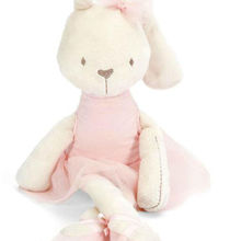 Pillow Pets Dolls Plush-Toy Stuffed Animal Bunny Baby-Girls Rabbit-Toys Soft Large Kids