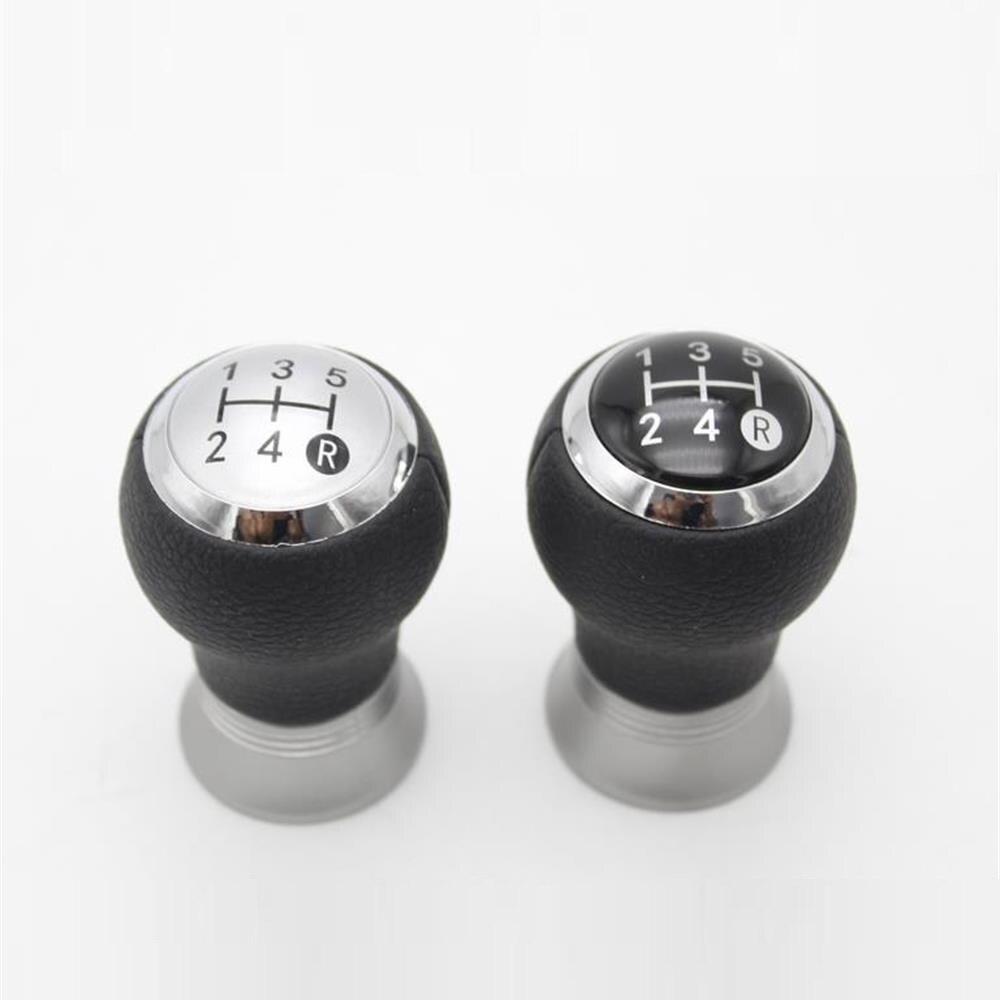 ILS 5 Speed Black Gear Shift Knob Kit for Fiat 500 500c 2012-2013