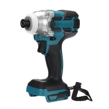 18V Cordless Electric Screwdriver Speed Brushless Impact Wrench Rechargable Drill Driver+