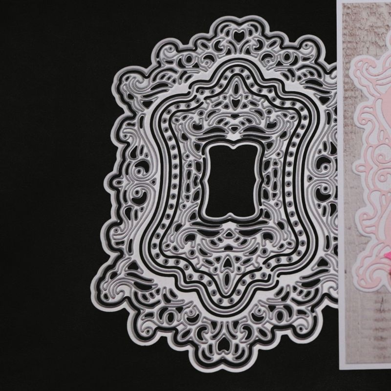 Lace Cutting Dies Stencil DIY Scrapbooking Embossing Card Paper Craft Decoration