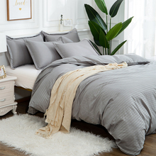 Bedding-Set Comforter Duvet Linens Queen Cotton Luxury Pillowcases Soft-Bed And