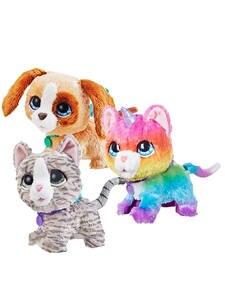 Hasbro Pets-Toys Unicorn Kitty Walkalots Furreal-Friends Gifts CAT And Dog Big for Kids