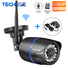 Techege Waterproof Camera Tf-Card-Storage Audio-Record WIFI Onvif 1080P Network Night-Vision