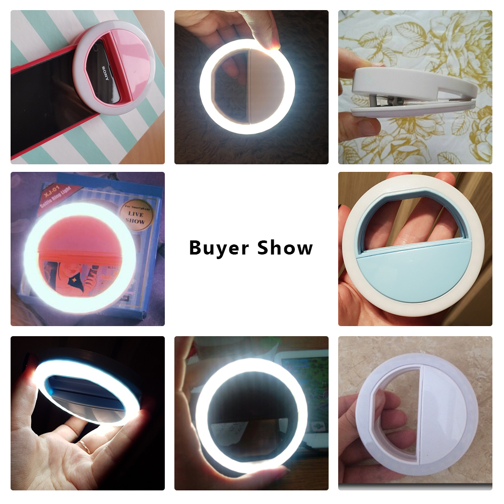 LED-Selfie-Ring-Light-For-iPhone-X-7-8-Samsung-S8-Huawei-Xiaomi-Nokia-Portable-Mini