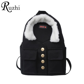 Personalized Unisex Backpacks Canvas Shoulders Bags Chinese Style Couple Backpack Design Travel Bag Clothing Styling School Bags