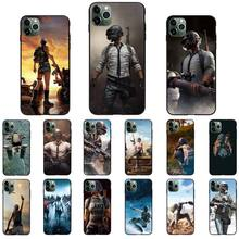 YNDFCNB pubg Custom Photo Soft Phone Case For iPhone 8 7 6 6S Plus 5 5S SE 2020 11 11pro
