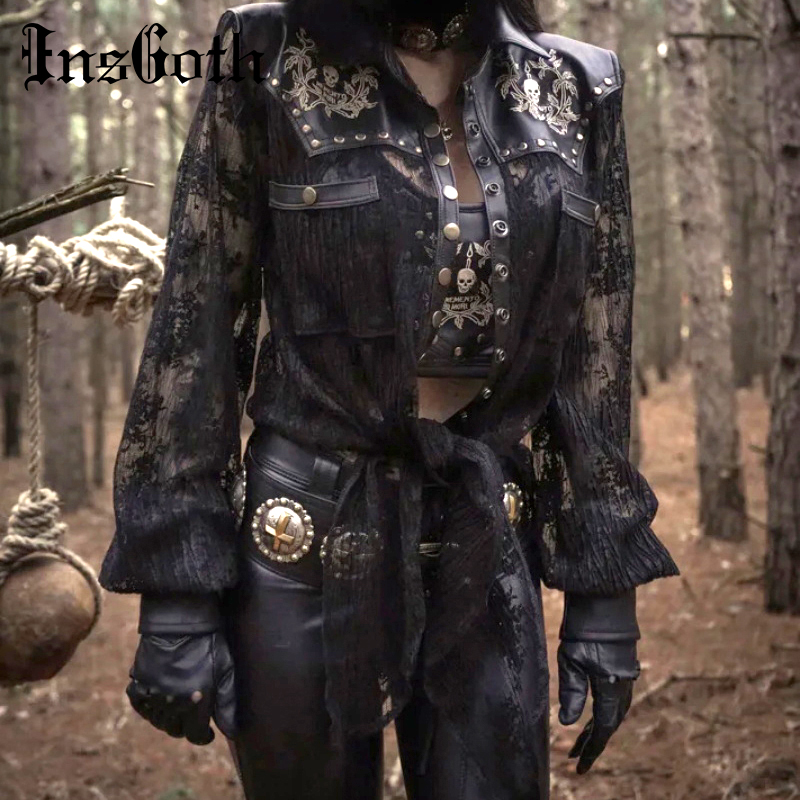 Women/'s PU Leather Patchwork Jacket Vintage Button Outerwear Plus Size Overcoat