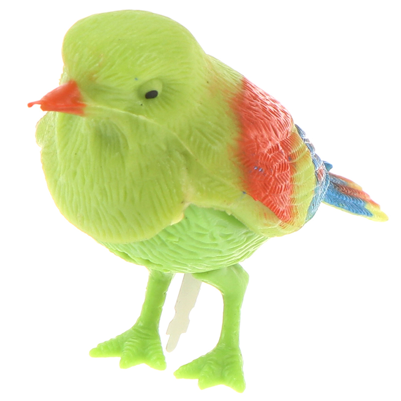 1Pcs Funny Electronic Pet Cage Decoration Toys Morning Bird Voice Control Music Bird Toy Simulation Cute Sing Song Bird Toy Doll