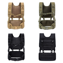 Tactical-Vest Harness Chest-Rig Body-Armor Airsoft Waist-Belt Paintball Military-Combat