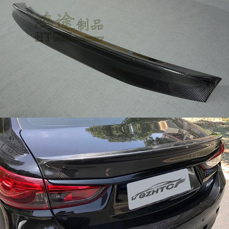 Imitation Shark Antenna Black Glossy For Mazda 6 Atenza 2014~2016+