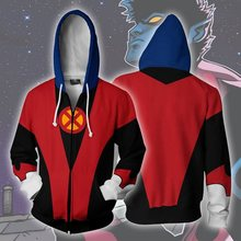 Осень-зима 3d-принт MARVEL COMICS-X-men Nightcrawler Hero Zip Up hoodie куртка одежда(China)