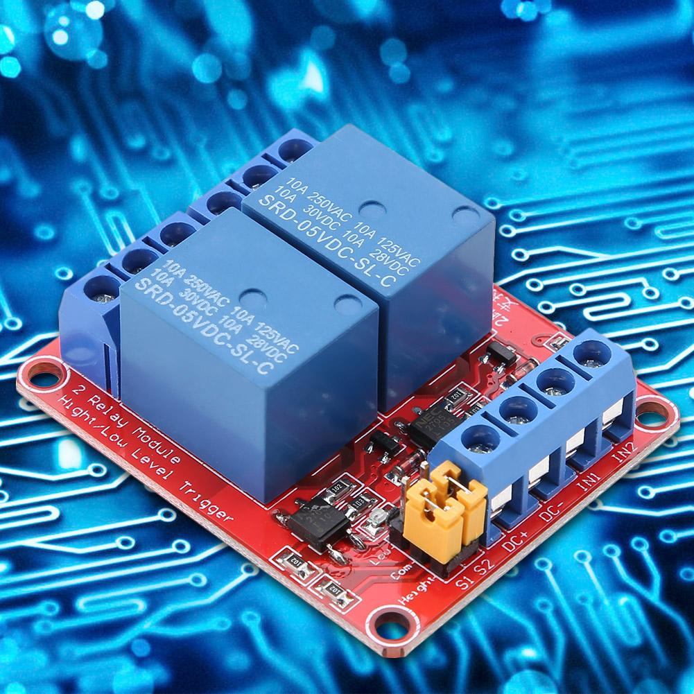 2Channel 12V Relay Module Board Shield With Optocoupler Support Trigger Relay EC