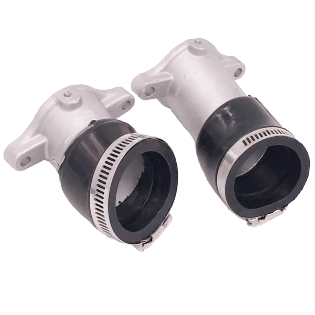 2Pcs Carburateur Admission Collecteurs CX500 avec Bottes Joints pour Honda