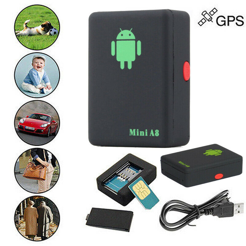 A8 Mini Real-time Tracker Locator Car Kids Pet GSM//GPRS//GPS Spy Tracking Device