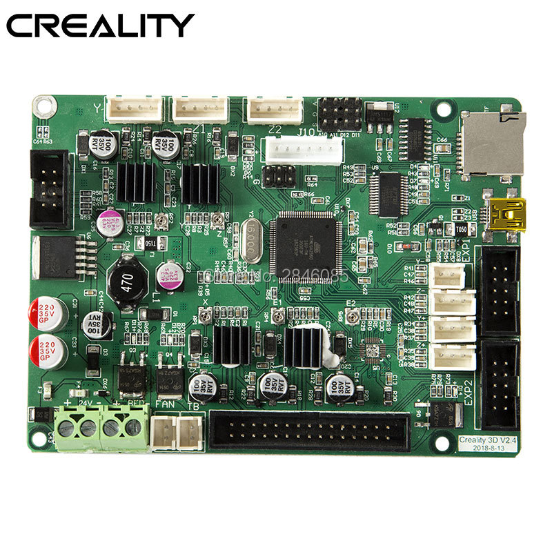 Creality 3D Upgrade Upgraded V2.4.1 MOTHERBOARD Firmware Flashed Well For CREALITY 3D Auto Leveling CR-10SPro Printer