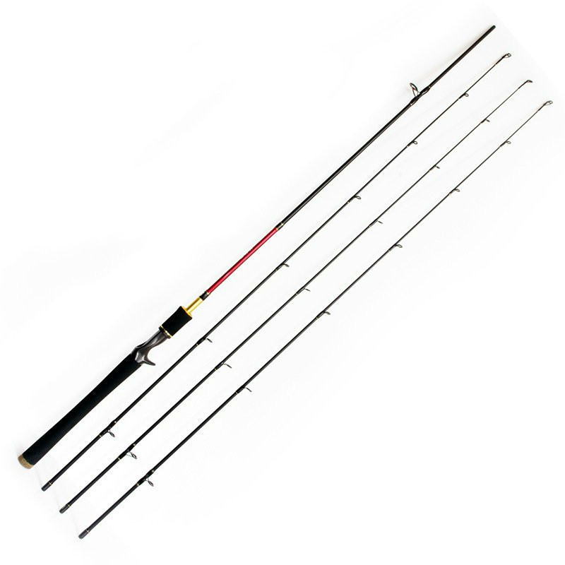Fishing-Rod Carbon-Casting Spinning Fast-Action Lure New M/mh 3-Tips Power title=