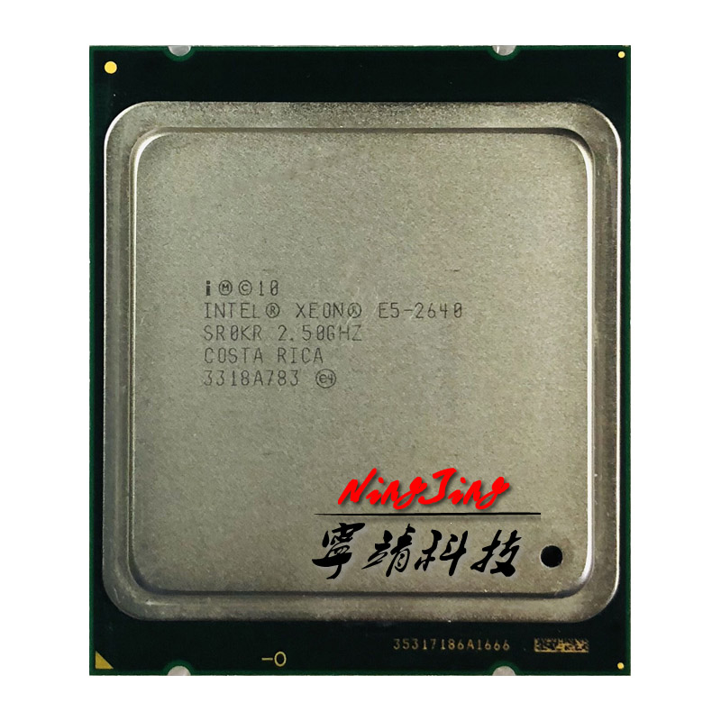 Intel Xeon E5-2640 E5 2640 2.5 GHz Six-Core Twelve-Thread CPU Processor 15M 95W LGA 2011