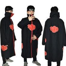 1c08566f121e6 Halloween Anime Naruto Cosplay traje Uchiha Itachi Cosplay Akatsuki Uchiha  Itachi capa ropa de fiesta capa