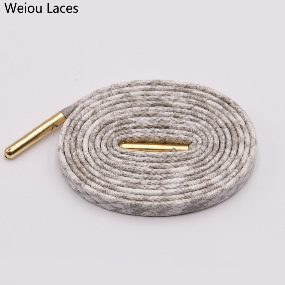 1 Pair Metallic Glitter Flat Shoelaces Bootlaces Shoes Decor 60-180cm Fashion