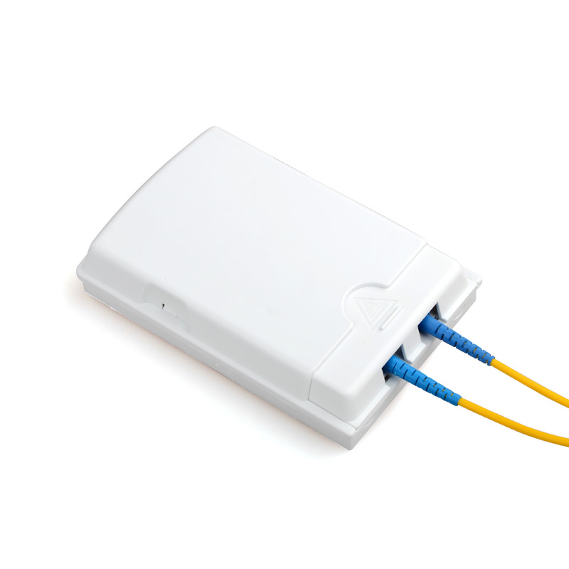 10pcs 2Cores FTTH Fiber Optic Panel Terminal Box Fiber Faceplate Fiber Outlet
