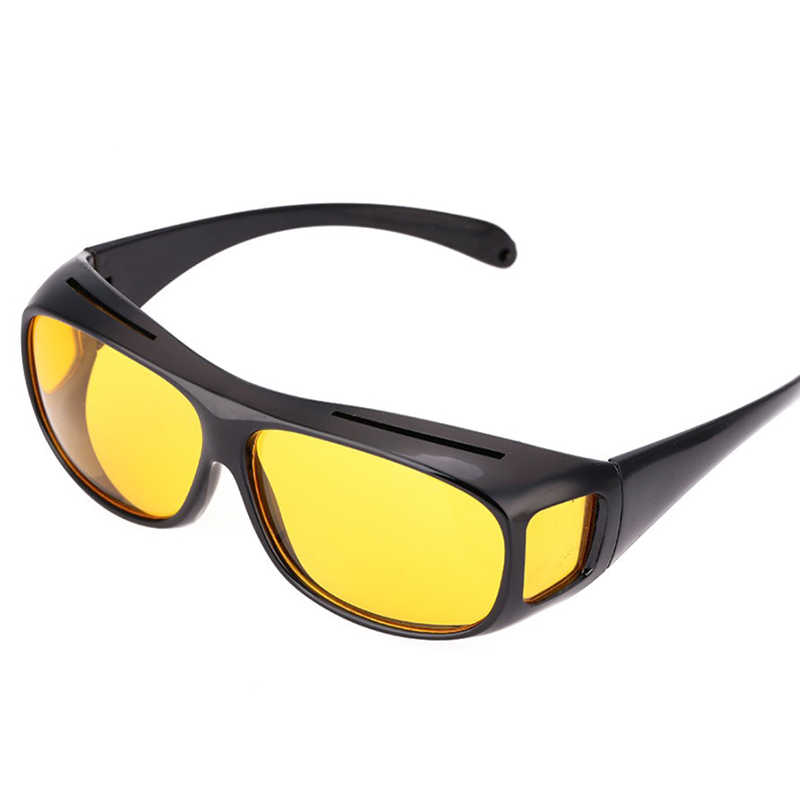 Classic Sunglasses Goggles Car Driving Glasses Hd Night Vision Anti-reflective Goggles Glasses Uv400 Driving Men Cycling Glass A