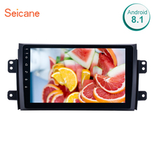 "Seicane Quad-core 2Din 9 ""Android 8,1/7,1 автомобилей gps радио для 2006-2012 Suzuki SX4 с Bluetooth музыки WI-FI поддержка OBD2 DVR(China)"