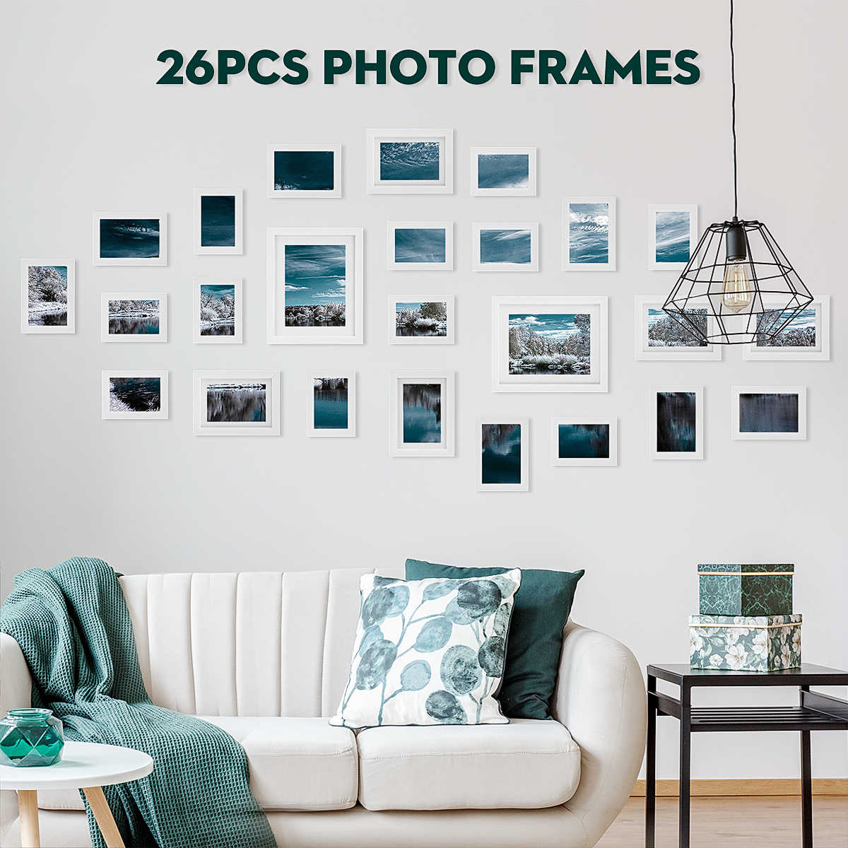 Incroyable Detail Feedback Questions About 12/18/23/26pcs Photos Large Multi Picture  Frame Collage Aperture Decor Memories Gift For Living Room Bedroom Wall  Decals On ...