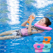 Foam Swimming Ring Adult Kids Neck Circle Learning Swimming Buoyancy Lifesaving Vest Children Pool Float Boia Piscina Pool Toys(China)