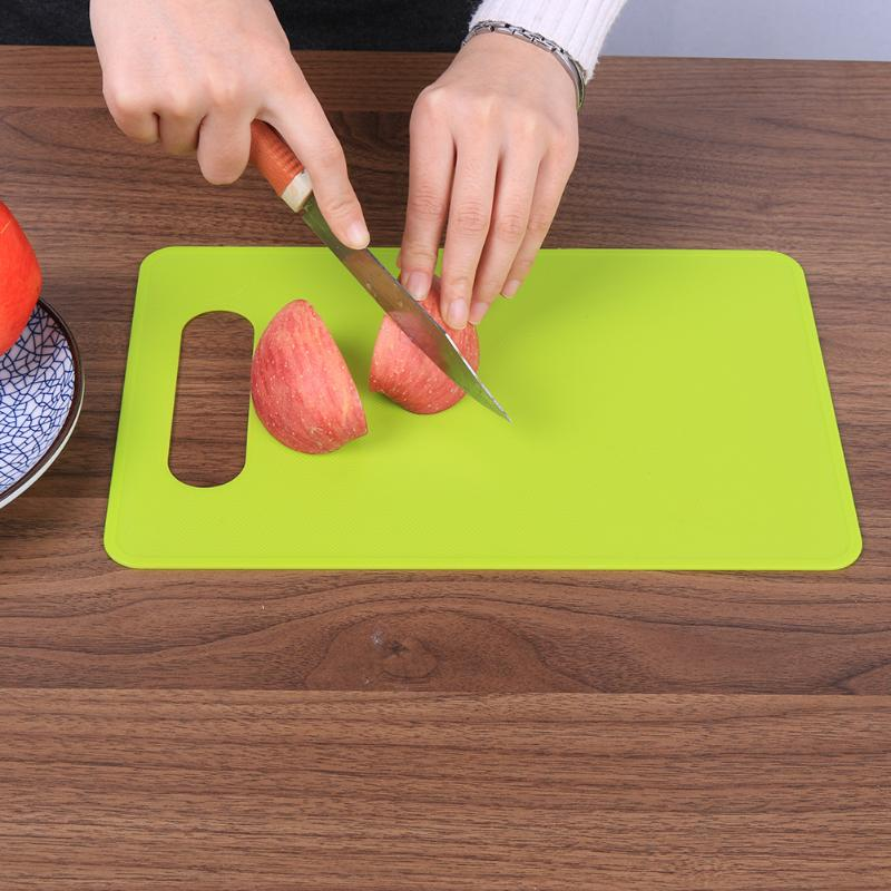 Non Slip Plastic Cutting Board Antibacterial Plastic Fruit Cutting Board Commercial Plastic Cutting Board