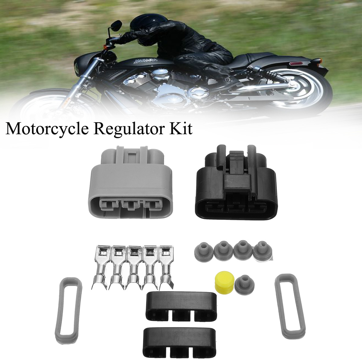 Voltage Regulator Rectifier Connector Kit For Honda Polaris YAMAHA KAWASAKI MK1