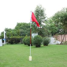 Flag-Stick Golf-Putting Flagpole Golf-Hole Practice Green New Backyard And 3-Section