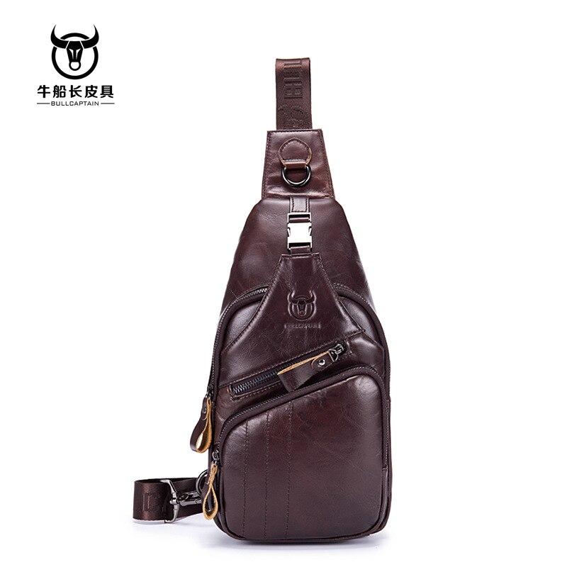 BULLCAPTAIN Men/'s Shoulder Bags Messenger Crossbody Small Waist Bag Wallet Purse
